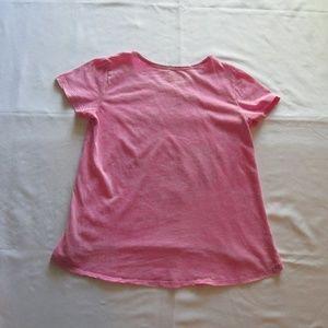 DISNEY Shirts & Tops - DISNEY (FROZEN) GIRLS PINK TEE